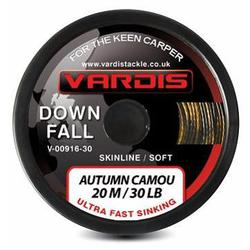 Поводковый материал Vardis Tackle DOWNFALL FS Semi-Stiff Skinline 20m 35lb Autumn Camou