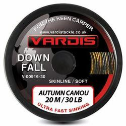 Поводковый материал Vardis Tackle DOWNFALL FS Super Soft Skinline 20m 30lb Autumn Camou