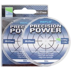 Леска Preston Innovations REFLO® PRECISION POWER™ - 50m / 0.09mm / 0.790kg