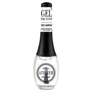 Верхнее покрытие Vivienne Sabo Gel Top Coat Nail Atelier 12 мл