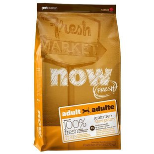 NOW FRESH Grain Free Adult Dog Food Recipe (5.45 кг)