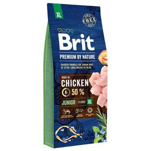 Корм для собак Brit Premium by Nature Junior XL