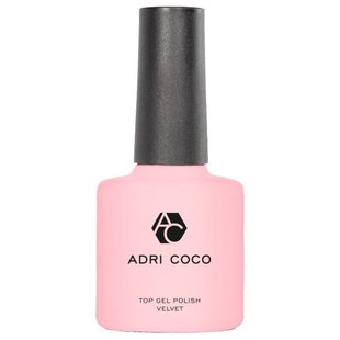 Верхнее покрытие ADRI COCO Top Gel Polish Velvet 8 мл