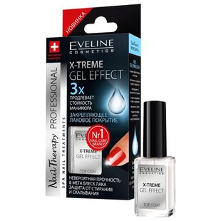 Верхнее покрытие Eveline Cosmetics X-Treme Gel Effect 12 мл